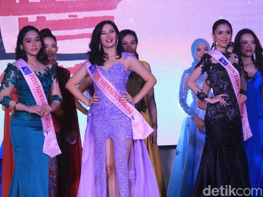 Potret Cantik Finalis Putri Pariwisata Indonesia 2018