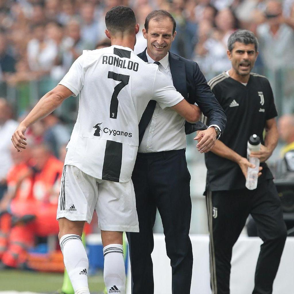 Allegri: Ronaldo Masih Gegabah