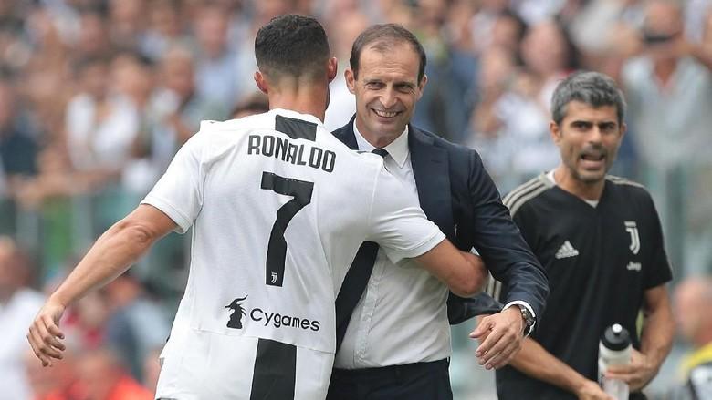 Massimilliano Allegri Kecewa Cristiano Ronaldo tak menangi Ballon d'Or 2018