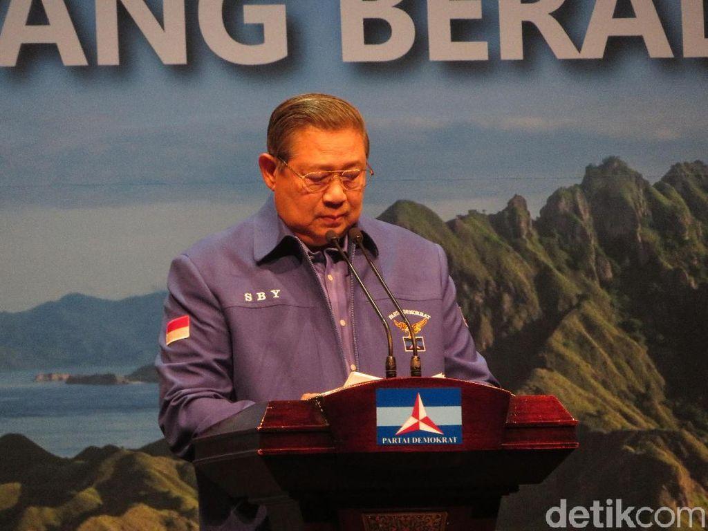 Kepada Peserta Kongres Demokrat, SBY: Santai, We Win!