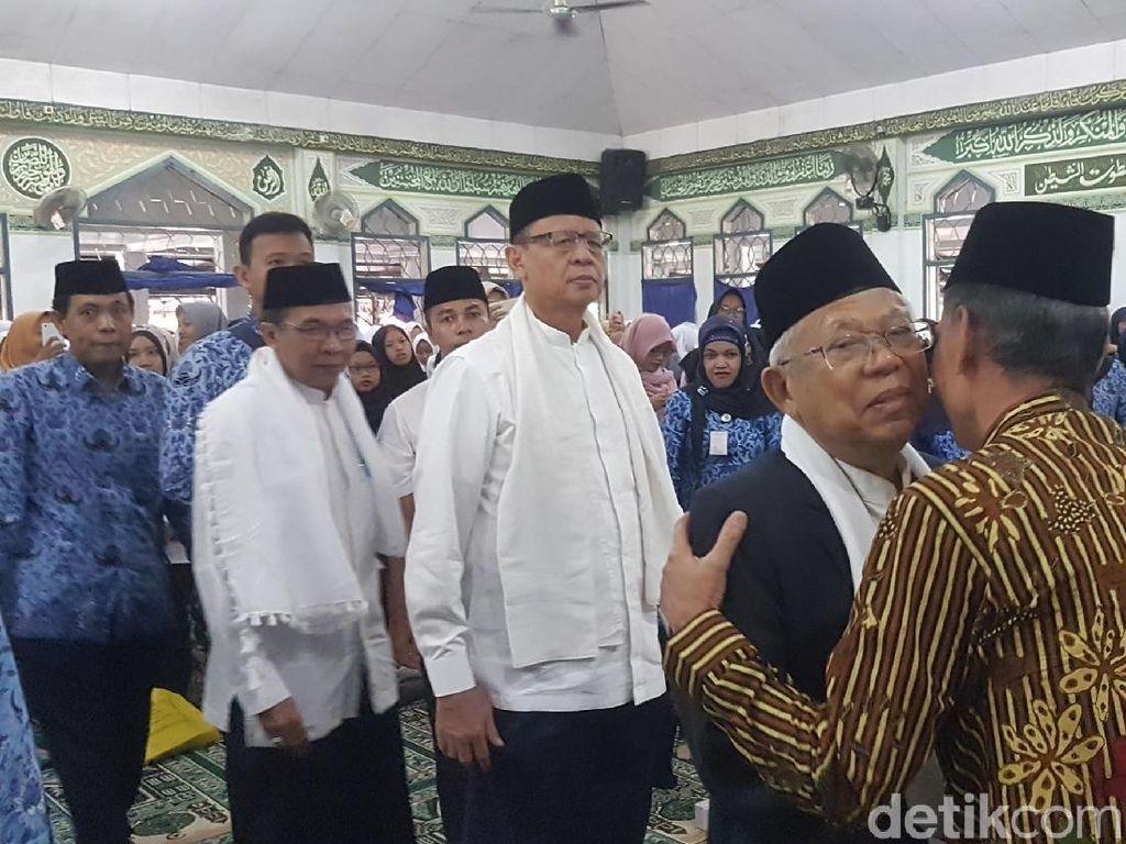 Dampingi Maruf Amin, Gubernur Banten Beri Sinyal Dukung Jokowi