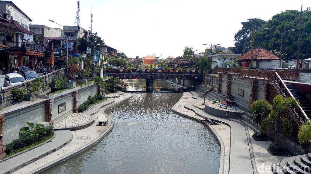 Foto: Bukan di Korea, Ini Sungai Cantik di Denpasar