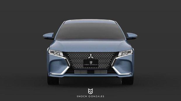 Desain Mitsubishi Galant