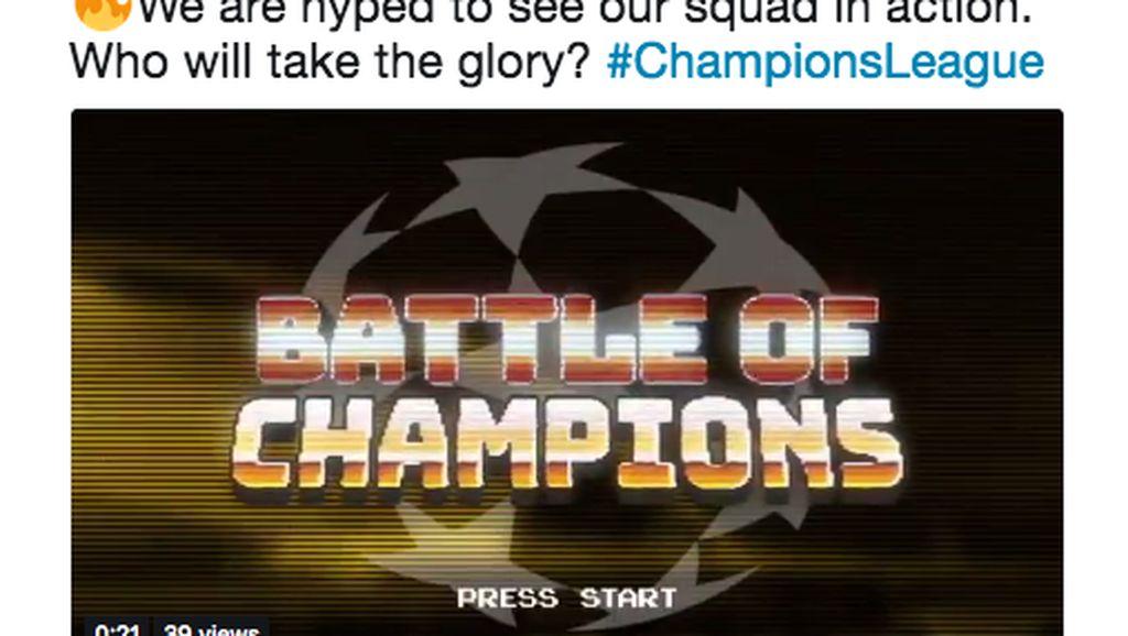 Malam Ini Liga Champions Mulai Lagi, Netizen Antusias Banget