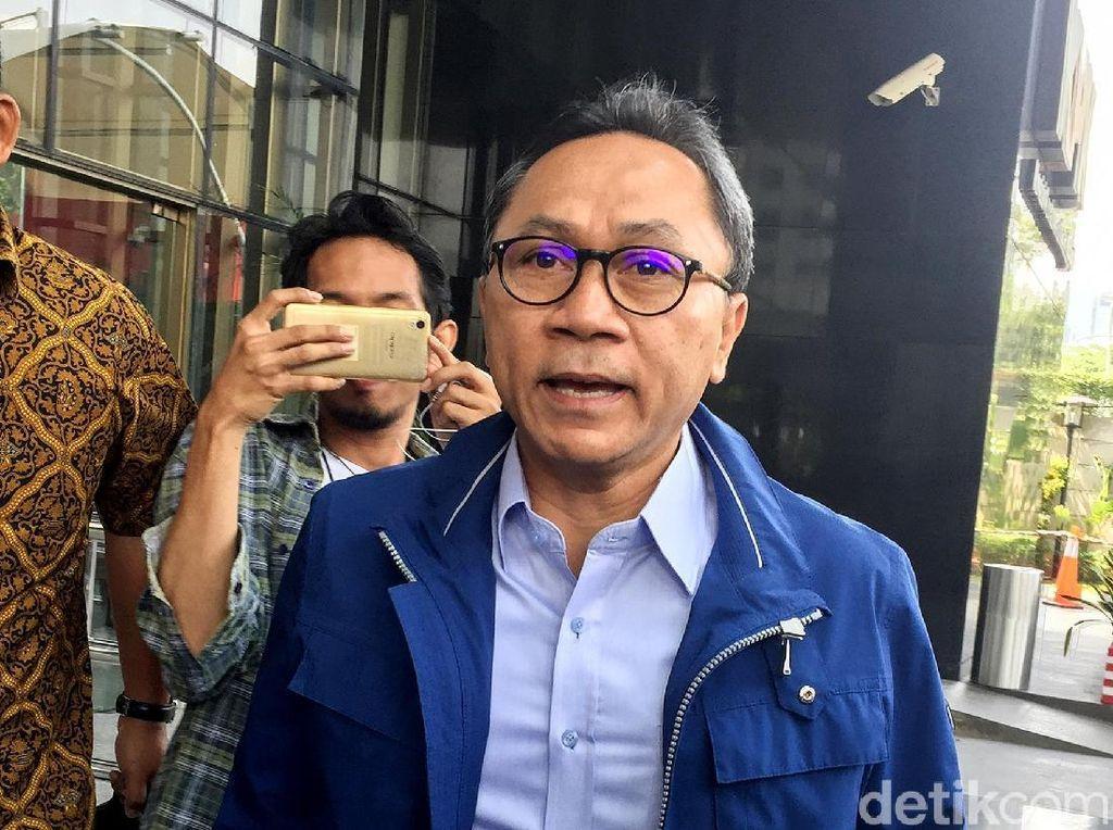 Zulfkifli Hasan Diperiksa KPK Terkait Suap Bupati Lampung Selatan