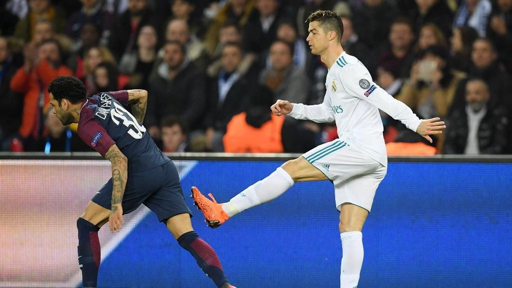 Dani Alves: Madrid Jadi Lebih Berbahaya Tanpa Ronaldo