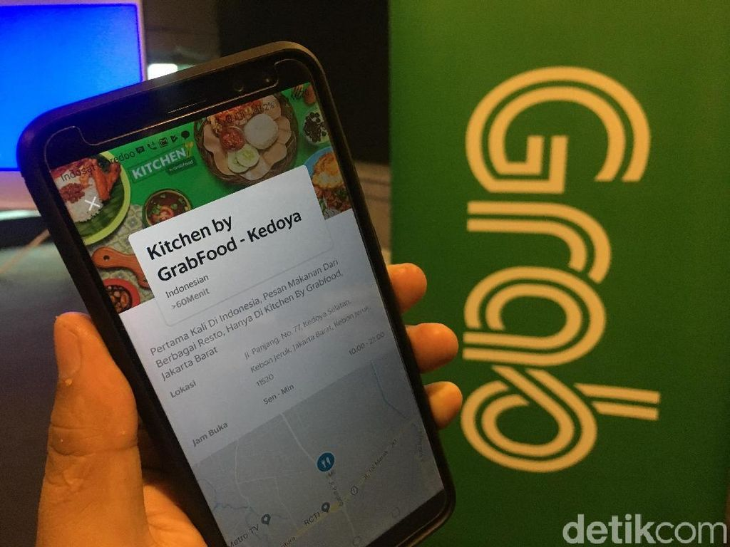 Kitchen by GrabFood, Food Court yang Hanya Ada di Aplikasi