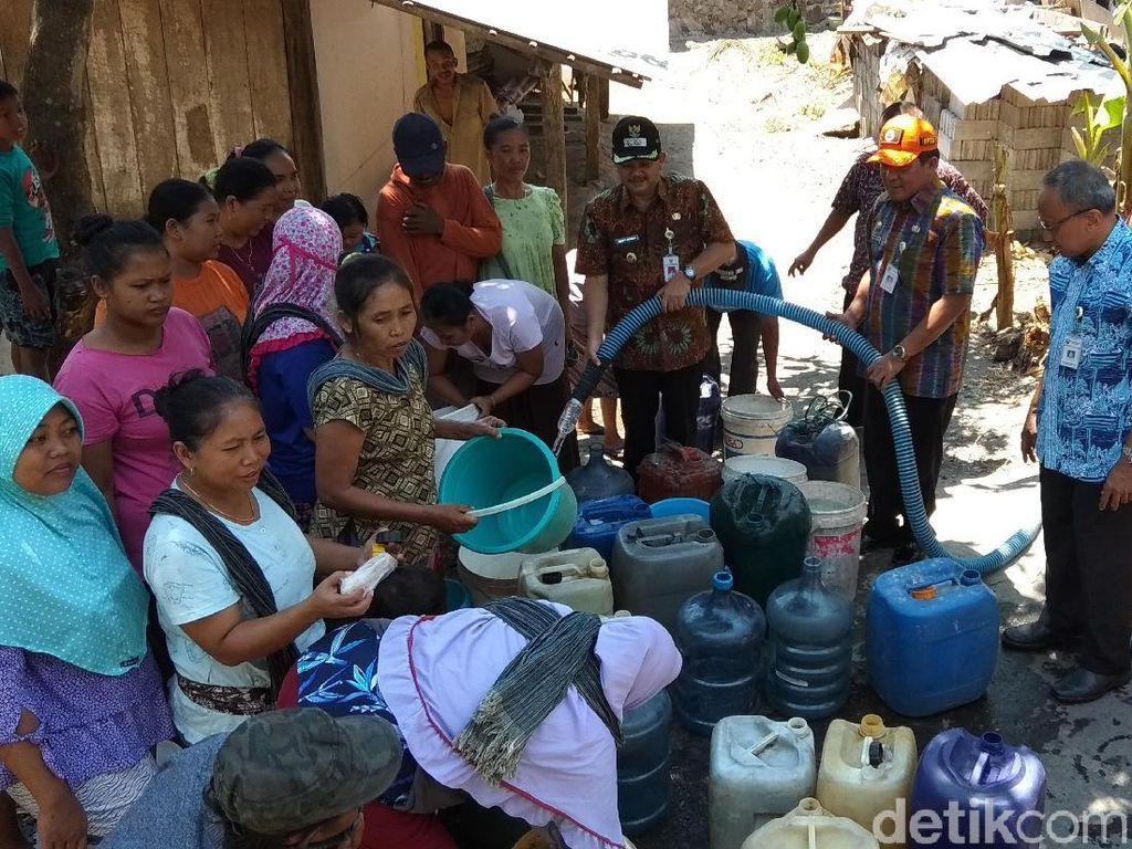 Persediaan Air untuk Droping di Kabupaten Semarang Tinggal 4 Hari