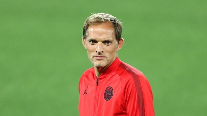 Pelatih Paris Saint-Germain, Thomas Tuchel, membenarkan kalau Neymar memang ingin hengkang (Foto: Mark Robinson/Getty Images)