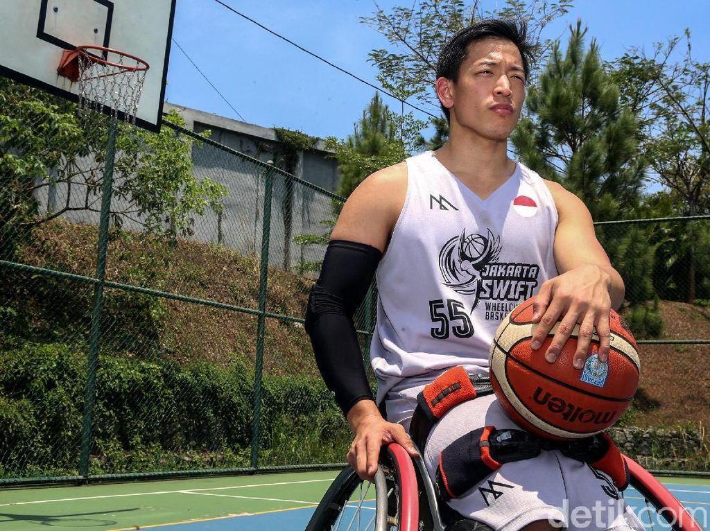 Kenalkan Donald Santoso Penggagas Basket Kursi Roda di Indonesia