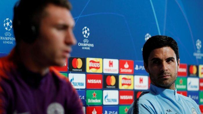 Mikel Arteta bakal menjalani debut sebagai manajer di lapangan (Andrew Boyers/REUTERS)