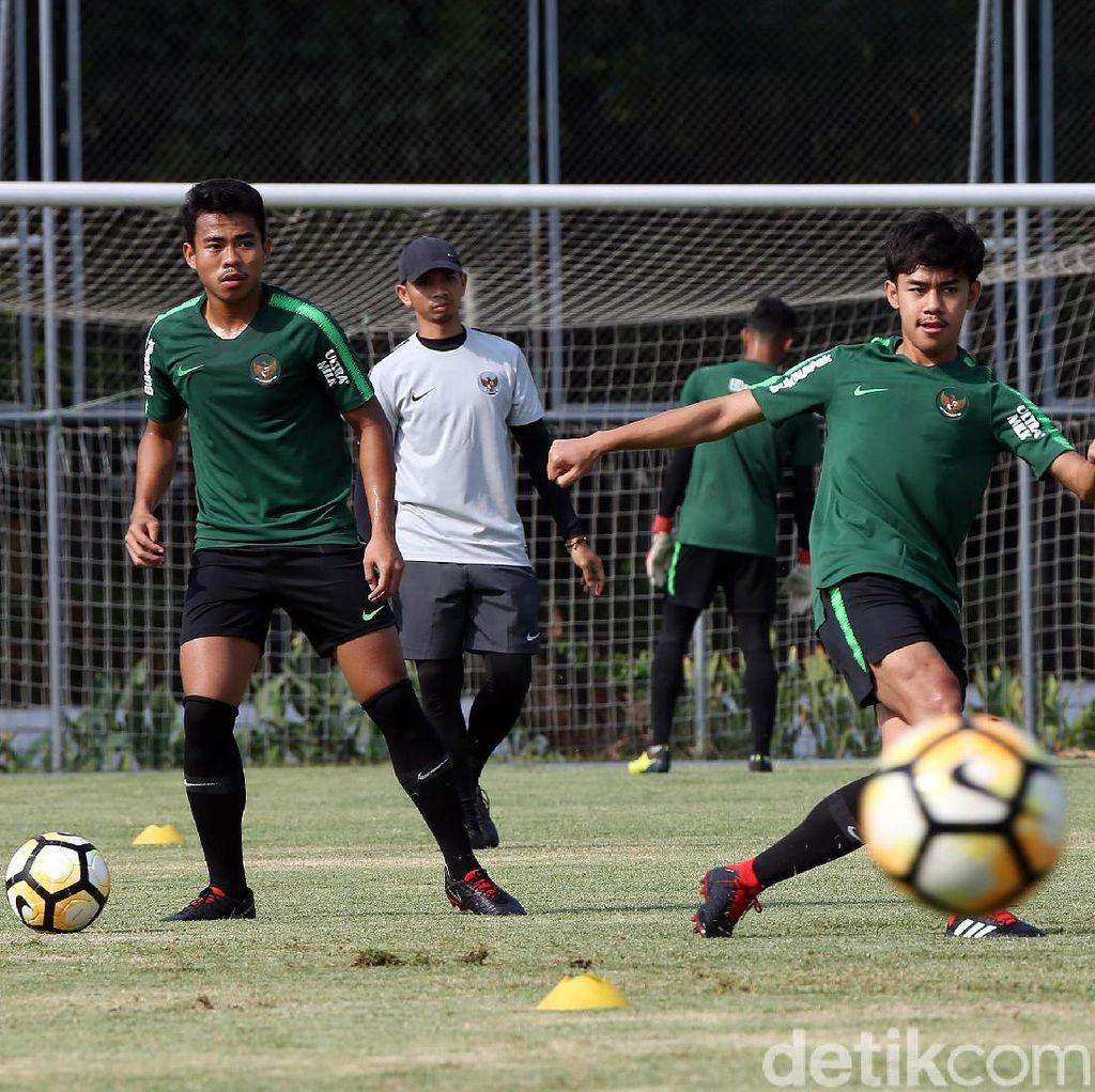 Jelang Turnamen Segitiga, Timnas U-19 Jalani Sesi Latihan