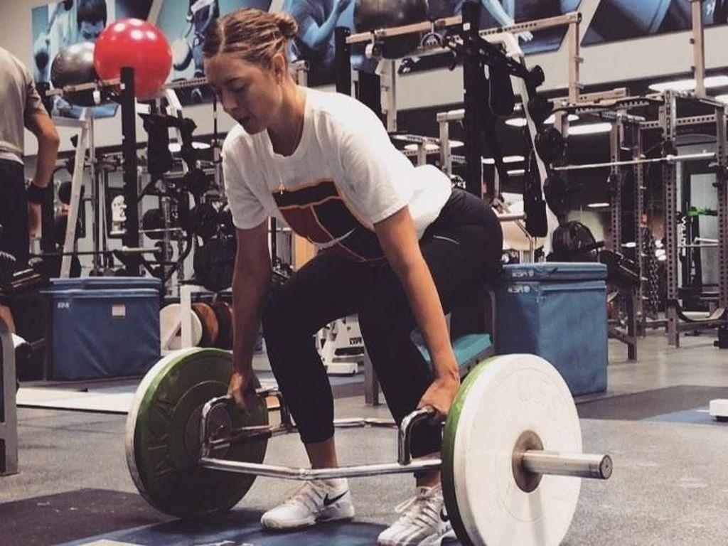 Sempat Terjerat Doping, Begini Maria Sharapova Jaga Kebugaran Tubuhnya