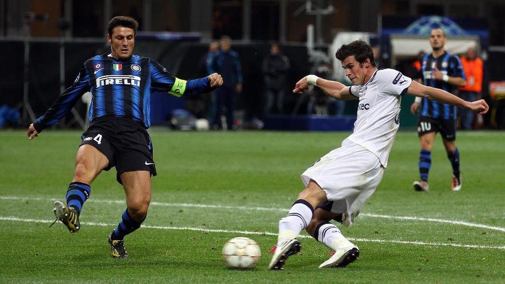 Inter vs Tottenham: Cerita Gareth Bale Memporak-Porandakan Inter