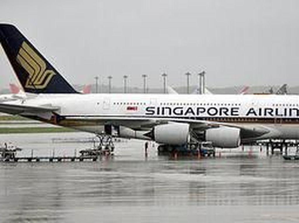 Pilot Singapore Airlines Dicegah Terbang karena Tak Lolos Tes Alkohol