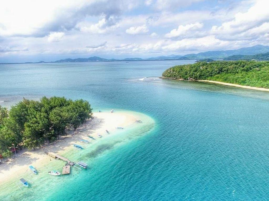 Foto: Pesona Gili Sudak di Lombok Barat