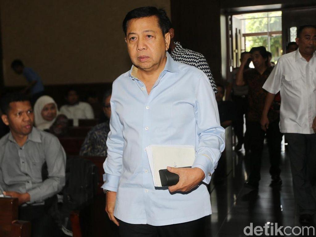Novanto dan Idrus Marham Jadi Saksi Sidang Kasus PLTU Riau-1