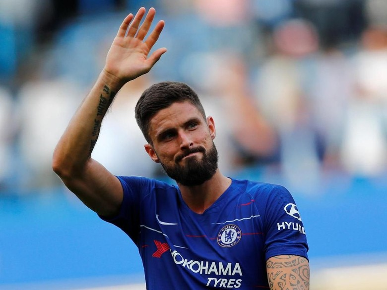 Giroud: Persaingan dengan Morata Baik untuk Chelsea