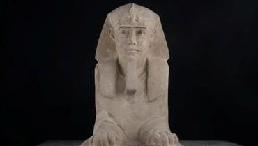 Arkeolog Mesir Temukan Sphinx Kecil Era 300 SM di Kuil Kom Ombo