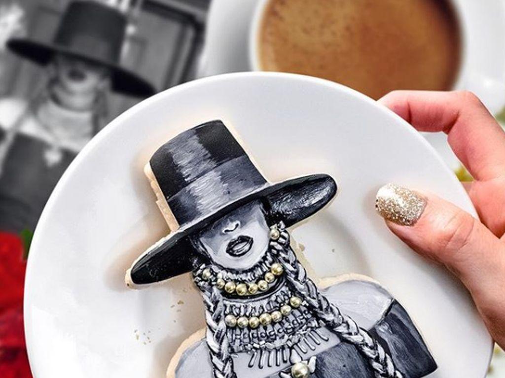 Sayang Dimakan! Cookies Beyonce Ini Dibuat Mirip Wajah Aslinya