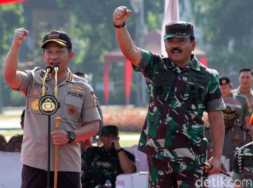 Video: TNI-Polri Gelar Apel Pengamanan Pemilu 2019