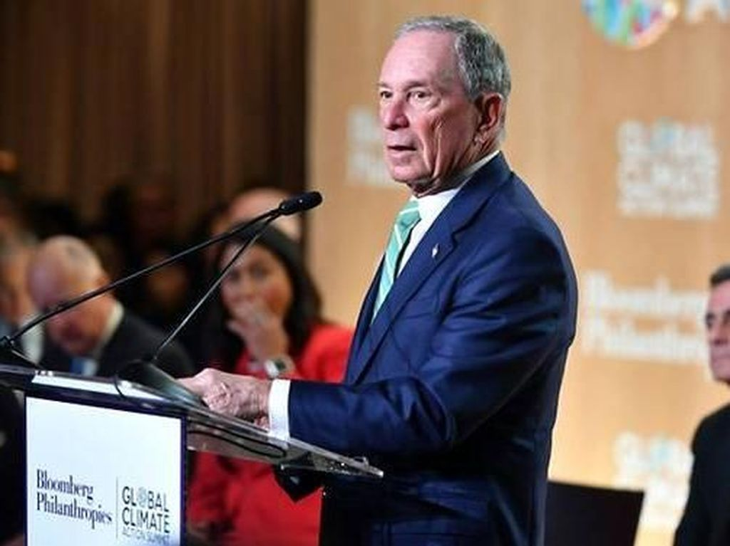 Orang Terkaya Dunia Minta Pendiri Bloomberg Nyapres