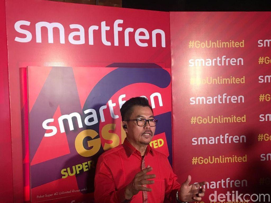 Smartfren Kembali Jajal 5G Sebelum Susul Telkomsel-Indosat