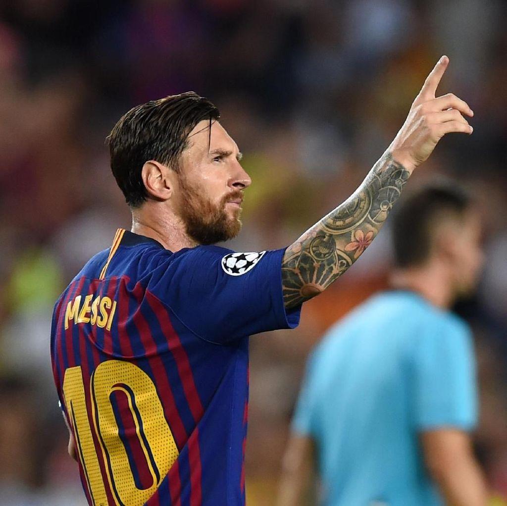 Messi Sudah Delapan Kali Hat-trick di Liga Champions, Ini Daftarnya