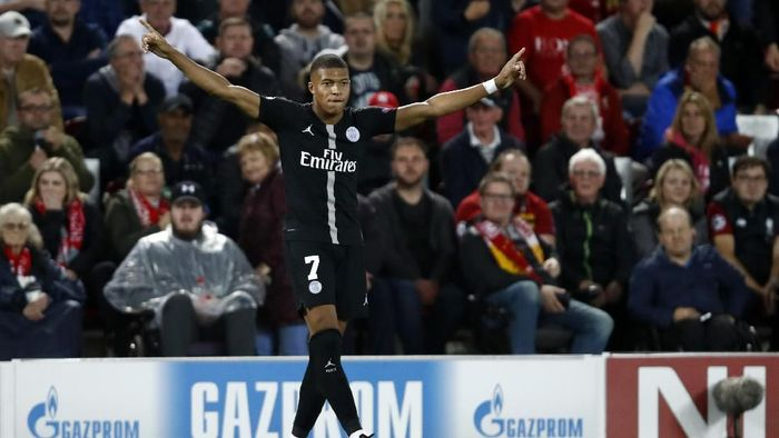 Pemain Paris Saint-Germain, Kylian Mbappe. (Foto: Julian Finney/Getty Images)