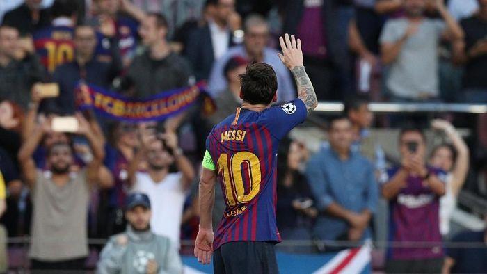 Lionel Messi jadi contoh betapa pentingnya nutrisi dalam sepakbola (Albert Gea/Reuters)