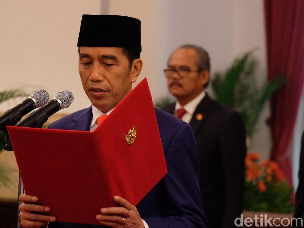 Jokowi: Selamat Anthony Ginting!