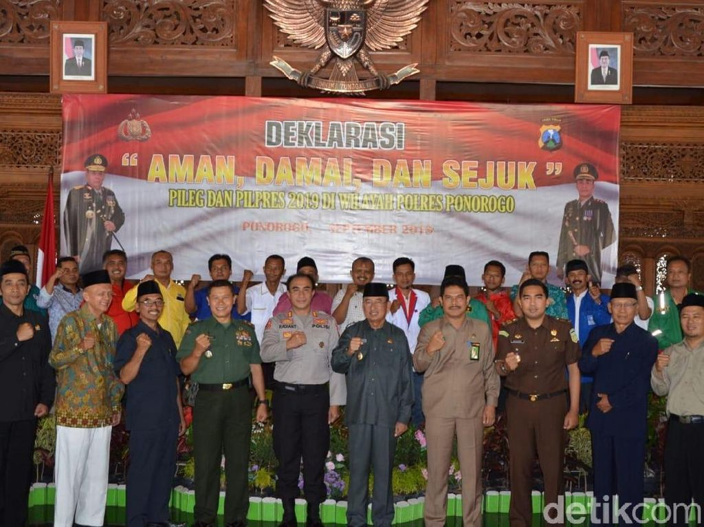 775 Personel TNI-Polri Disiagakan di TPS Se-Ponorogo