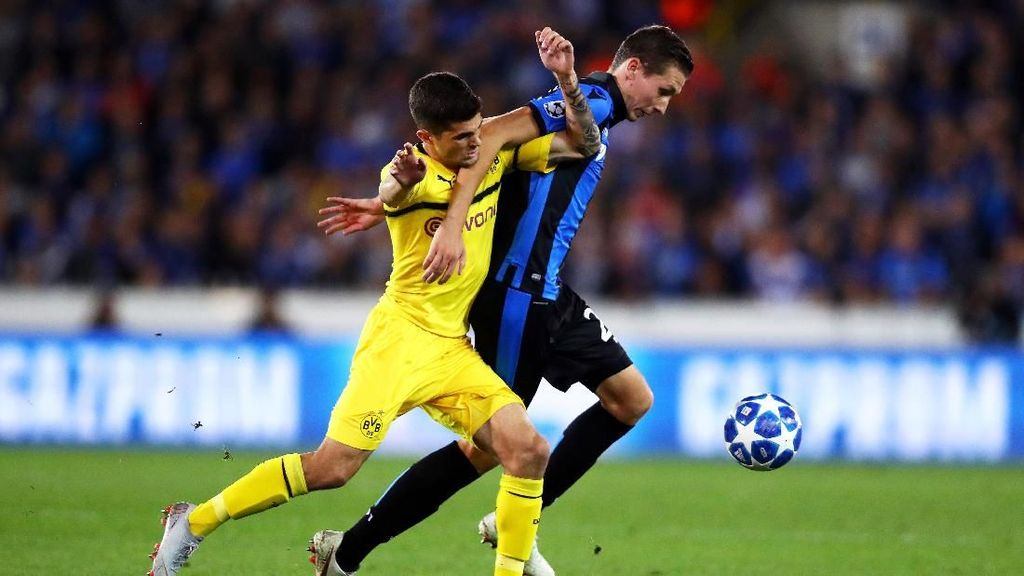 Hasil Liga Champions: Dortmund Menang Tipis 1-0 atas Club Brugge