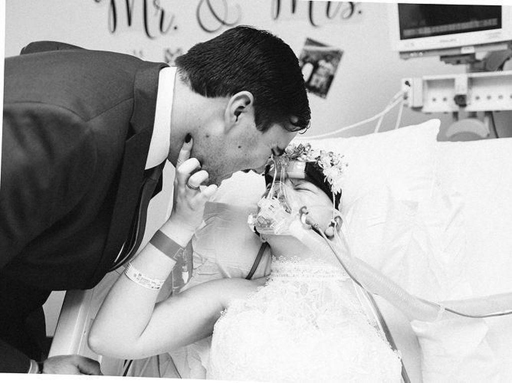 Kisah Haru Remaja yang Dinikahi Kekasih 3 Hari Sebelum Meninggal