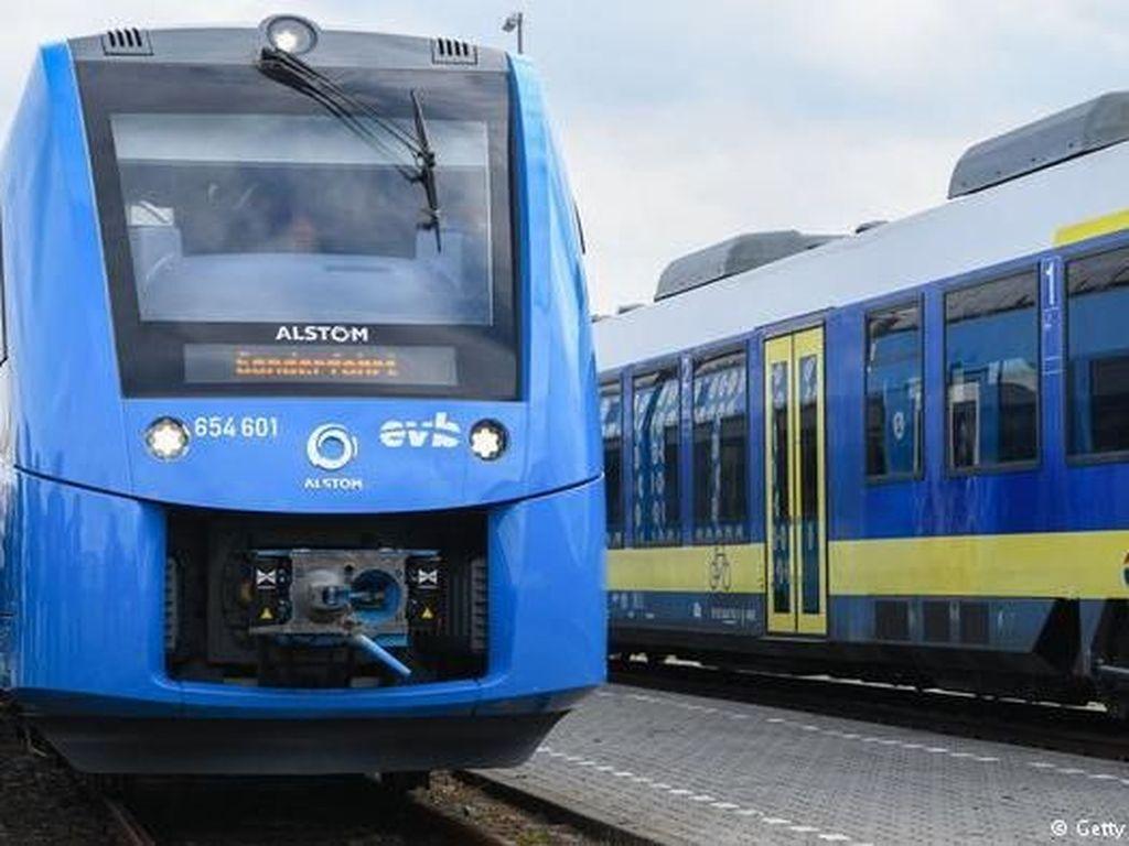 Kereta Hidrogen Pertama Asia akan Meluncur di Indonesia