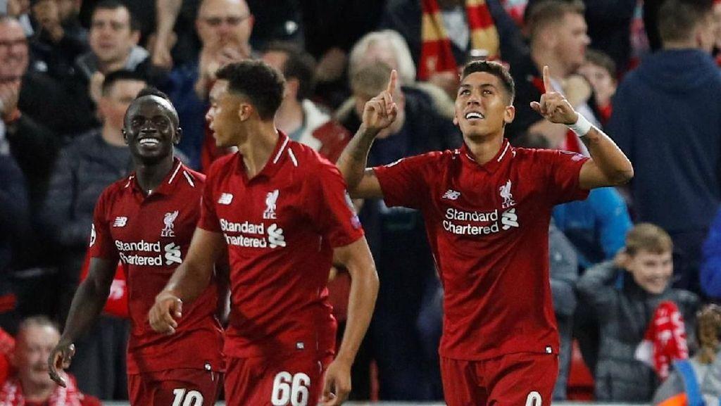 Tarian Sturridge dan Satu Mata Firmino di Kemenangan Liverpool
