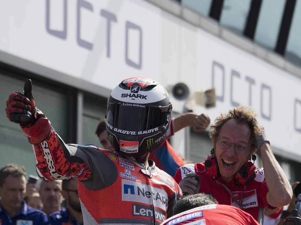 Lorenzo: Motor Ducati Kini Sangat Komplet