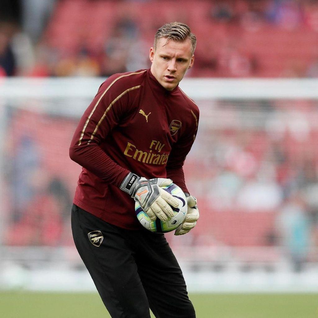 Lawan Vorskla, Bernd Leno Bakal Debut untuk Arsenal?