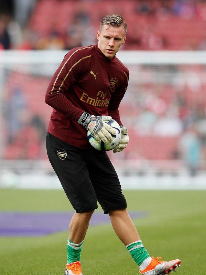 Bernd Leno akan memainkan debutnya di Liga Europa (David Klein/REUTERS)