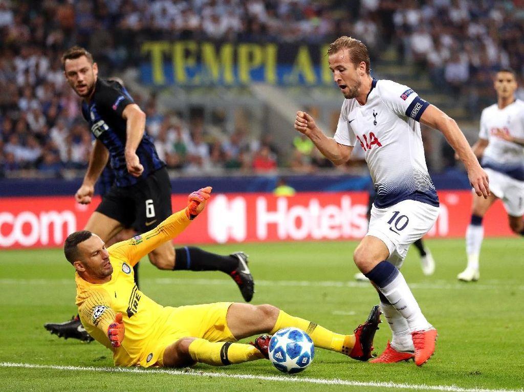 Inter Vs Spurs Masih Tanpa Gol di Babak I