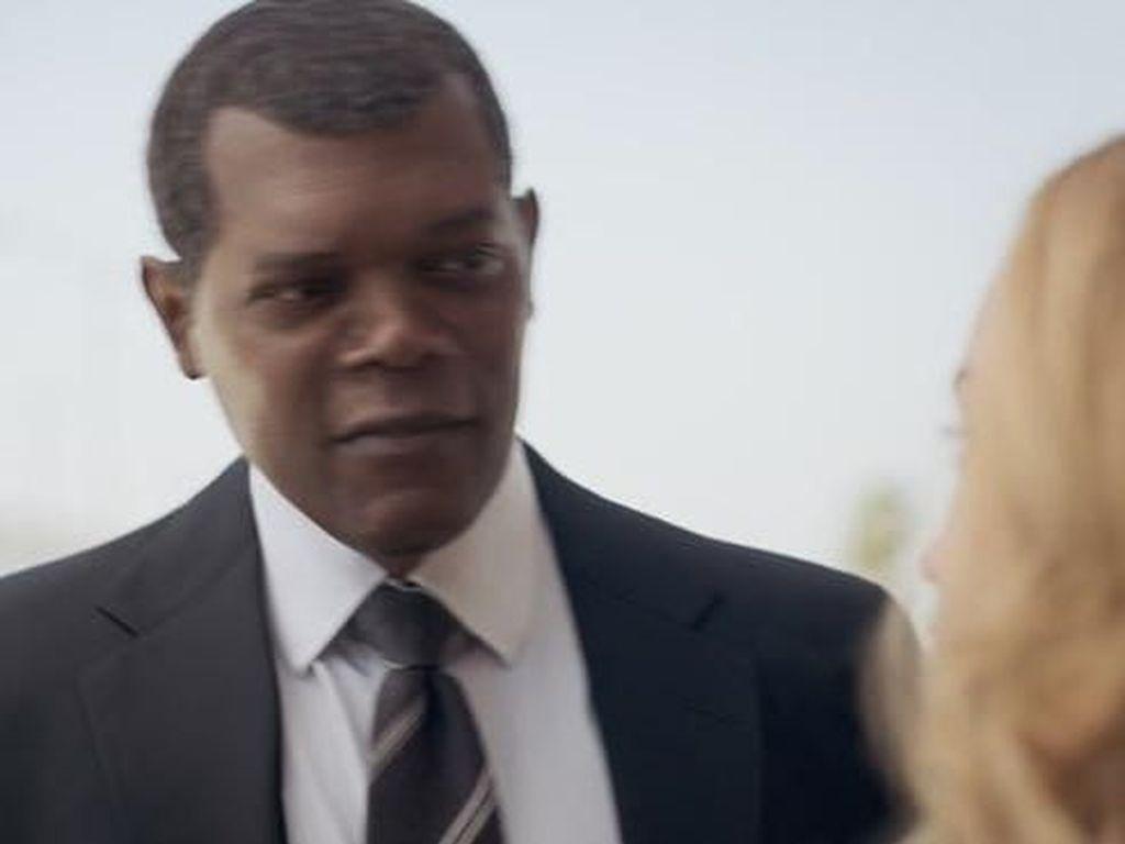 Dalami Peran di Captain Marvel, Samuel L Jackson Pura-pura Buta
