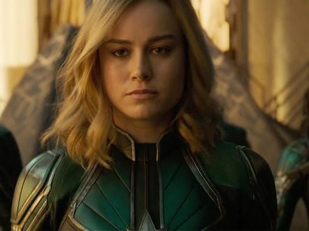 Wuiw! Captain Marvel Unjuk Super Power