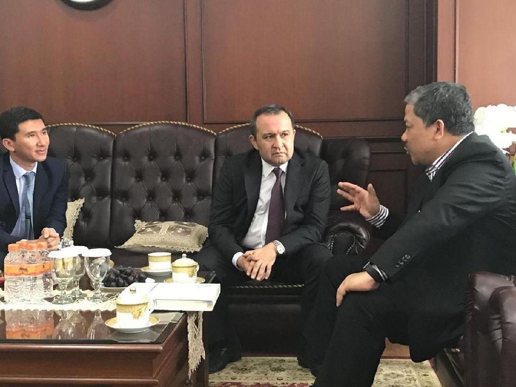 Fahri Sebut Dubes Baru Uzbekistanuntuk RI Adalah Pejabat Terbaik