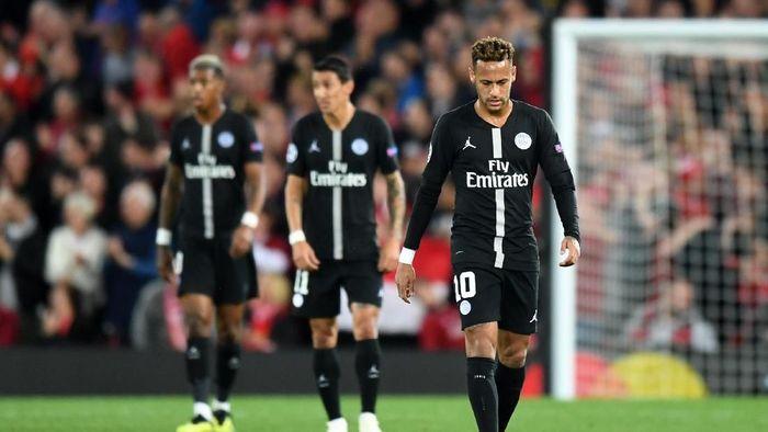 Paris Saint-Germain terancam didepak dari Liga Champios terkait pelanggaran FFP. (Foto: Michael Regan/Getty Images)