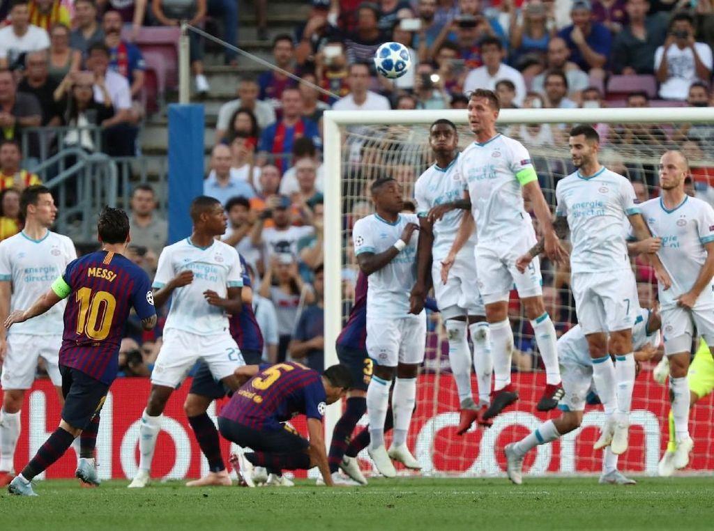 Karena Messi Terbiasa Melakukan Hal Luar Biasa