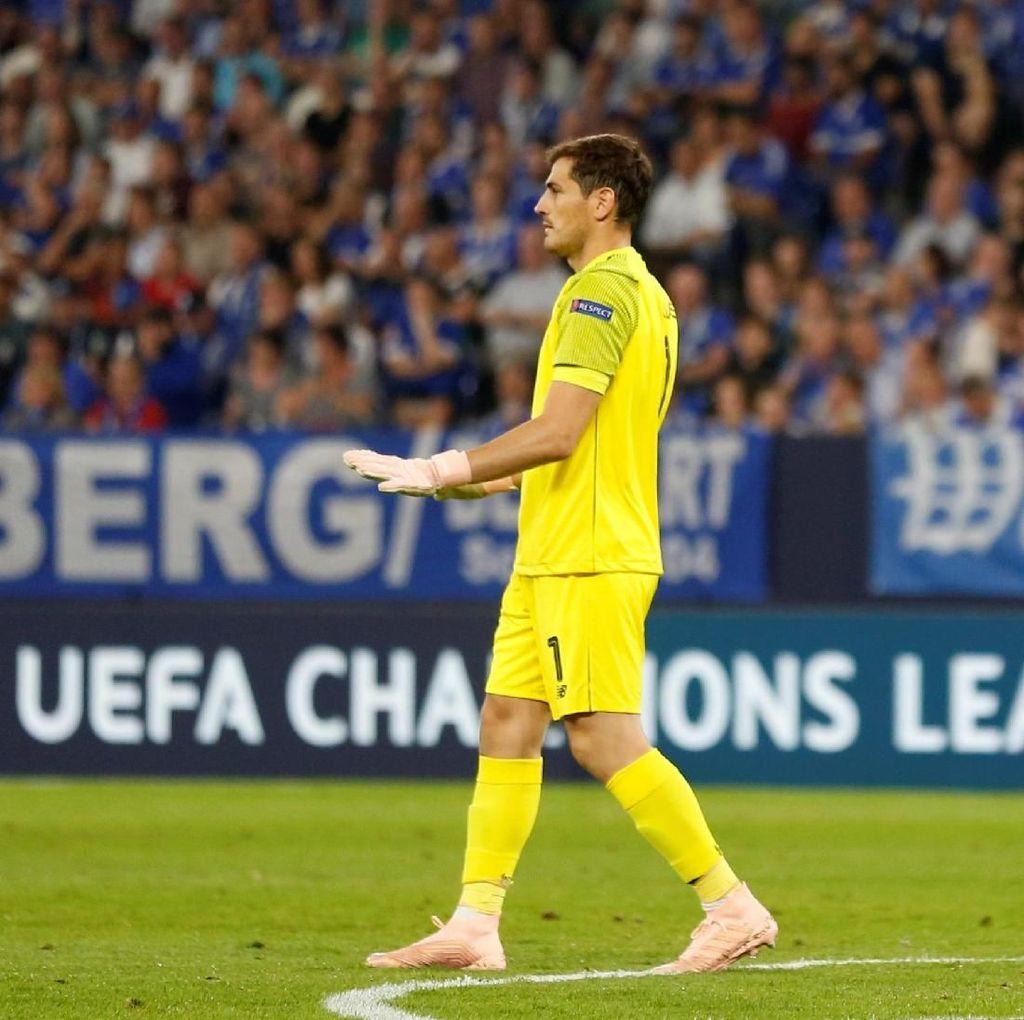 Casillas Sudah 20 Musim Tampil di Liga Champions