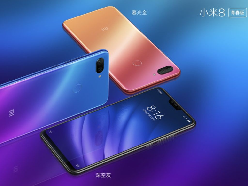 Xiaomi Mi 8 Youth Sudah Penuhi TKDN, Kapan Resmi Dirilis?
