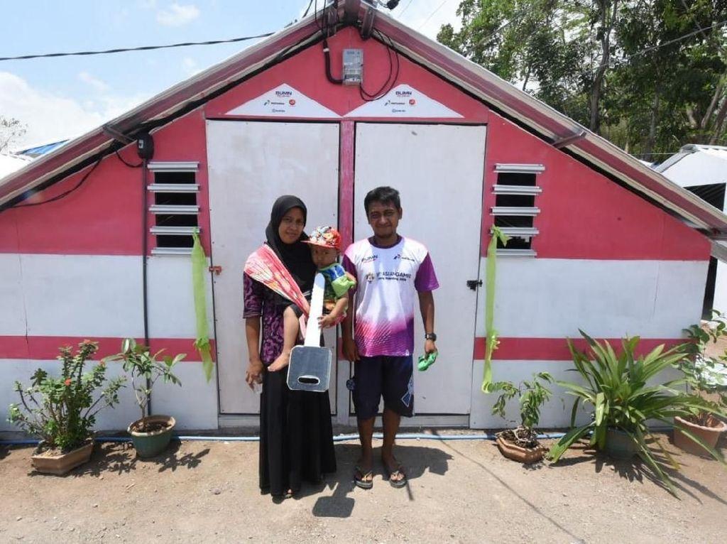 Ini Dia Rumah Transisi untuk Korban Gempa Lombok