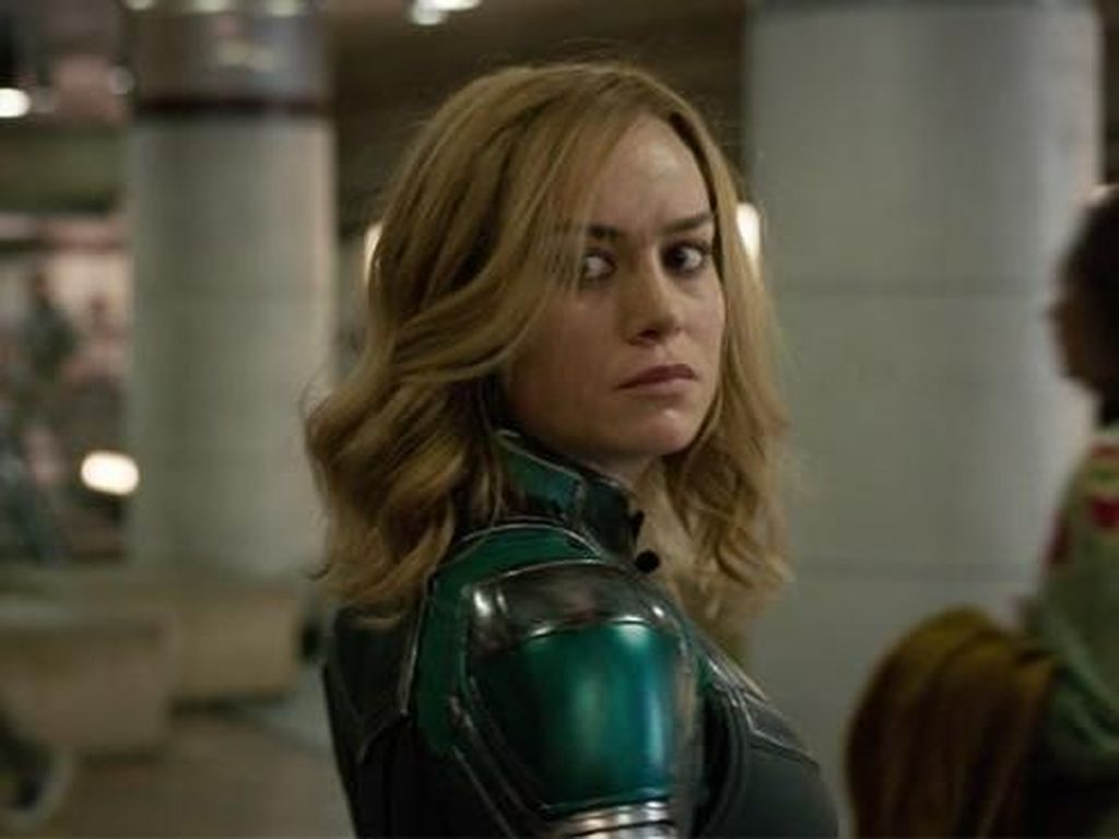 Kata Marvel soal Plot Berlubang Nick Fury Pager Captain Marvel