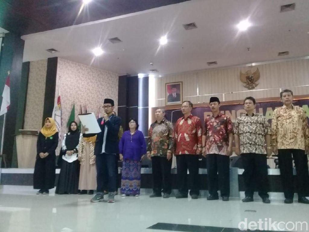 Rektor dan Mahasiswa UIN Malang Deklarasi Antikorupsi Bareng KPK